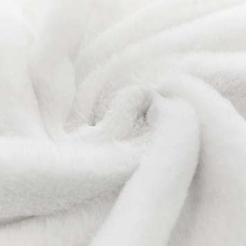 Fausse fourrure blanche très douce