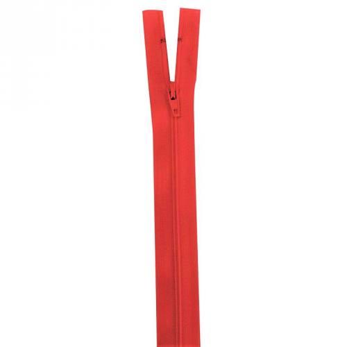 Fermeture rouge 50 cm non séparable col 820