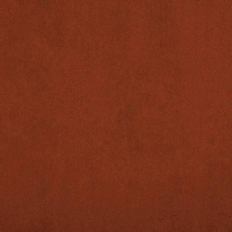 Suédine contrecollée extensible couleur brique