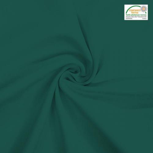 Rouleau 31m burlington infroissable Oeko-tex vert sapin 280cm grande largeur