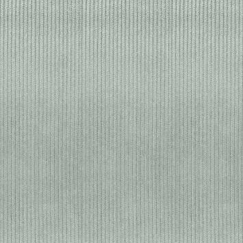 Velours côtelé d'ameublement gris ciment