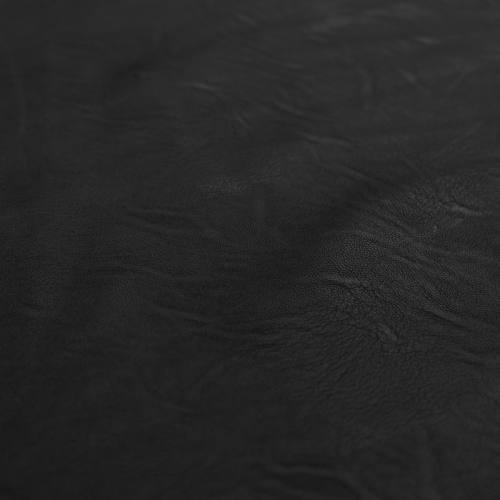 coupon - Coupon 90cm - Simili cuir d'habillement extensible noir