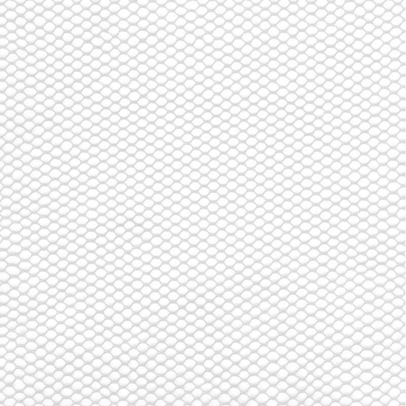 Filet mesh blanc