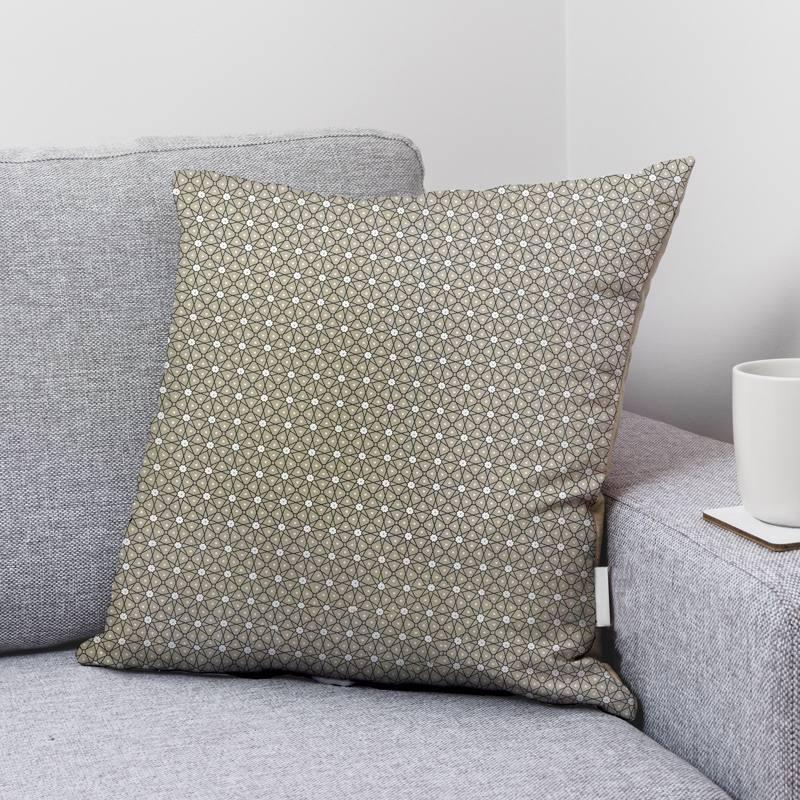 Coton grège motif ceramik
