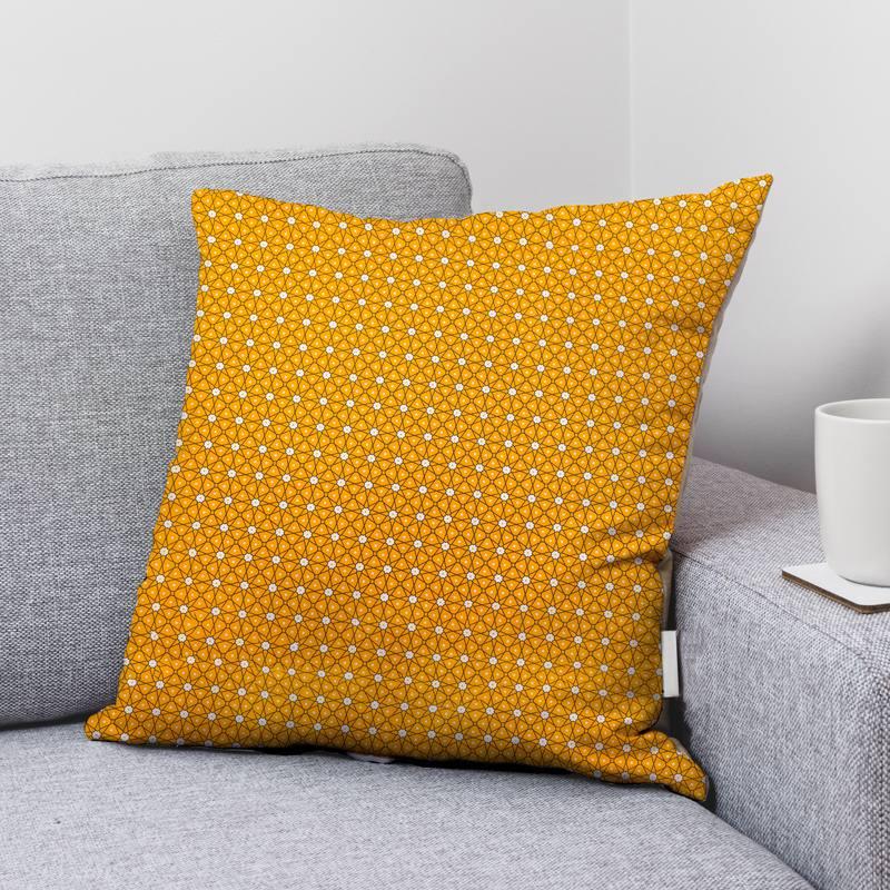 Coton ocre motif ceramik