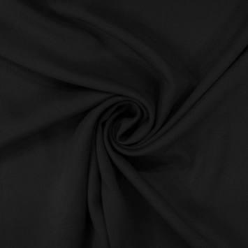Tissu microfibre twill noir
