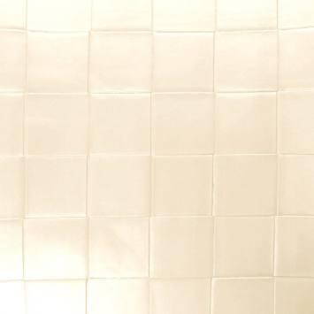Simili nacré couleur perle à carreaux en relief