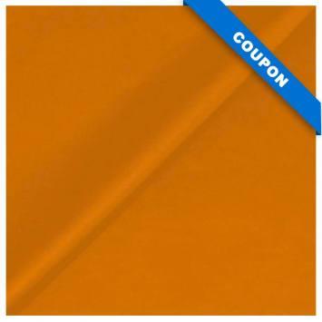 Coupon 50x68cm - Simili touché cuir mat camel