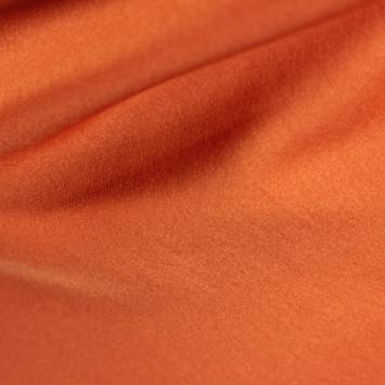 Satin microfibre royal orange