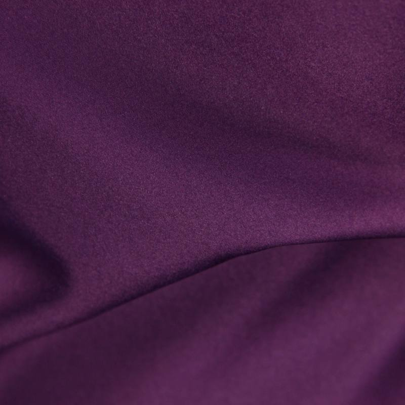 Satin microfibres royal violet