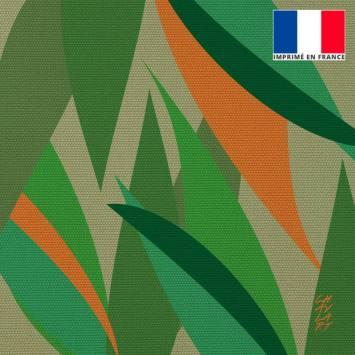 Coupon 45x45 cm toile canvas Gratitude - Fond - Création Chaylart