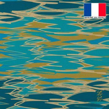 Coupon 45x45 cm motif Plénitude - Fond - Création Chaylart