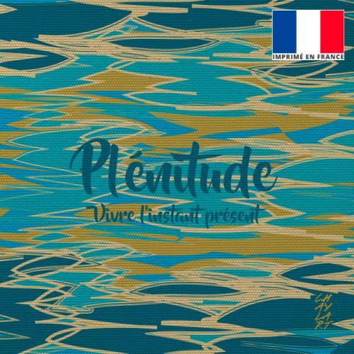 Coupon 45x45 cm toile canvas Plénitude - Création Chaylart