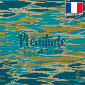 Coupon 45x45 cm motif Plénitude - Création Chaylart