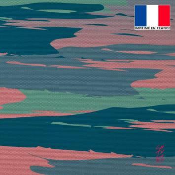 Coupon 45x45 cm motif Amour - Fond - Création Chaylart