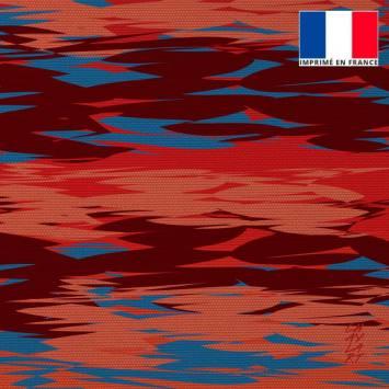 Coupon 45x45 cm toile canvas Sérénité - Fond - Création Chaylart