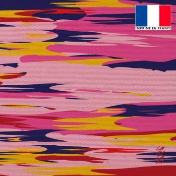 Coupon 45x45 cm toile canvas Béatitude - Fond - Création Chaylart