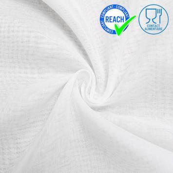 Mousseline de coton spécial contact alimentaire