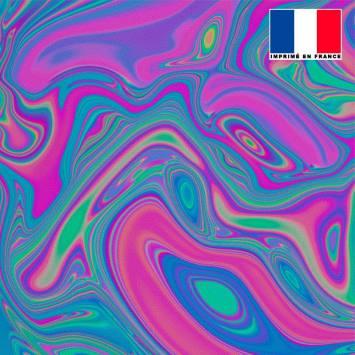 Mousseline motif hologramme