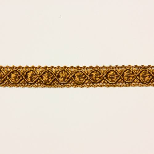 Ruban 12 mm cuivre à motifs