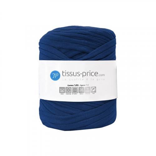 Bobine de fil trapilho bleu foncé de 750g