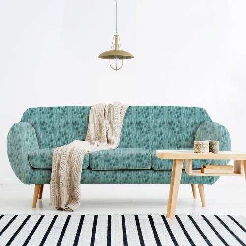 Velours ras bleu motif texture effet bois