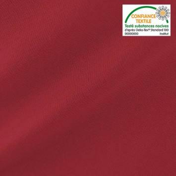 Punto milano uni rouge cerise