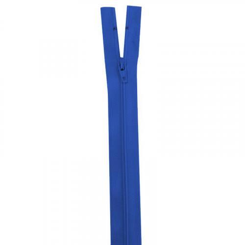 Fermeture bleu roi 30 cm non séparable col 918