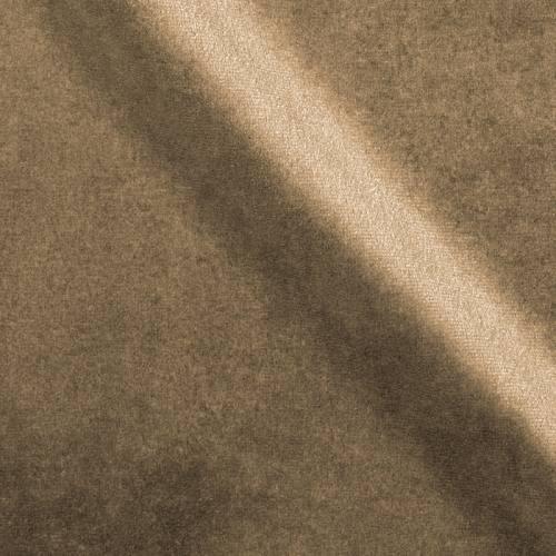 Velours d'ameublement uni beige