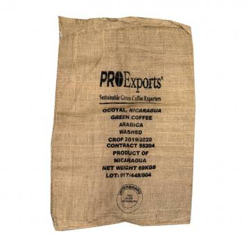 Sac à café en toile de jute Pro Exports