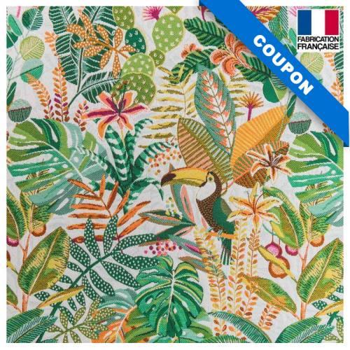 Coupon 50x73 cm - Jacquard sumatra cactus