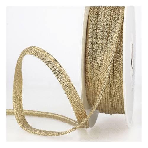 Passepoil lurex doré 10mm