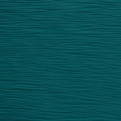 coupon - Coupon 70cm - Triple gaze de coton bleu canard
