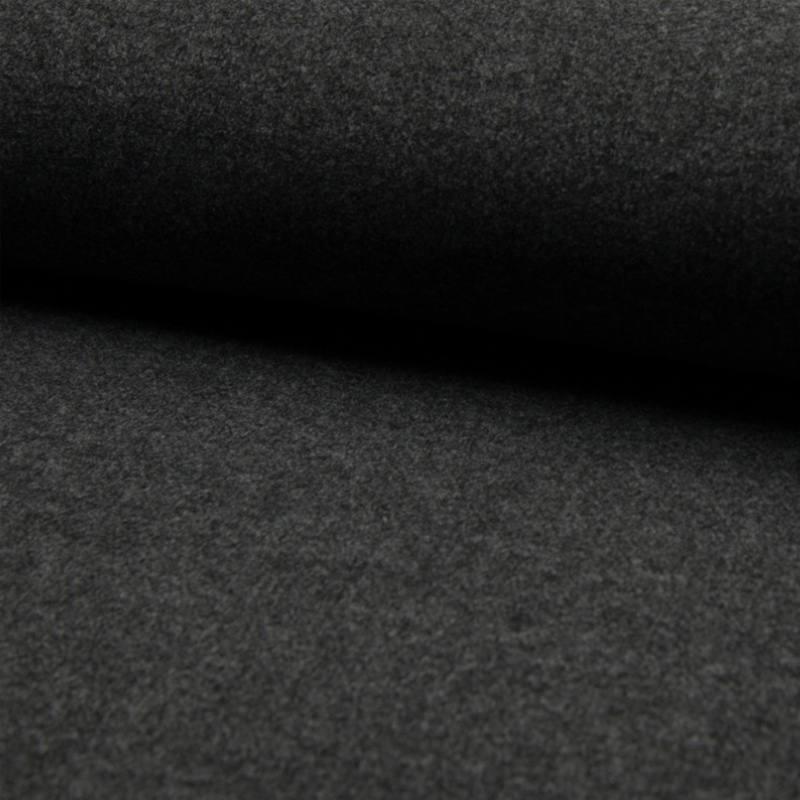 Tissu caban gris