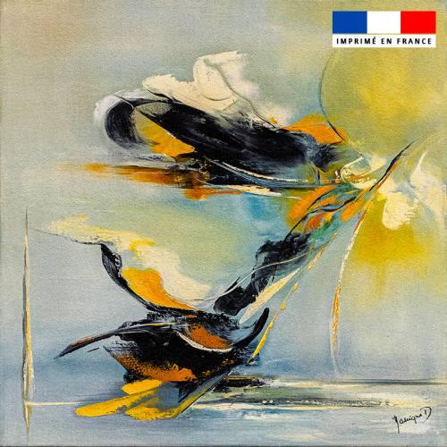 Coupon 45x45 cm motif L'envol - Création Monique.D