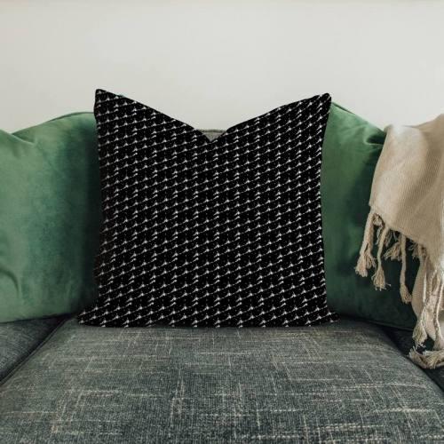 Forme triangulaire blanche - Fond noir