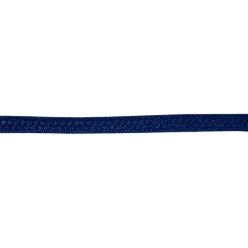 Galon tressé 13 mm bleu marine