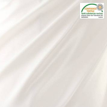 Tissu PUL blanc sans Phtalate