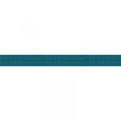 Bobine de biais 20 M - bleu paon 47
