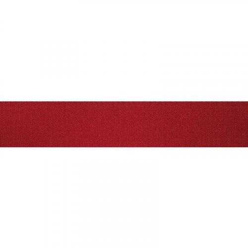 Sangle polyester rouge 35 mm