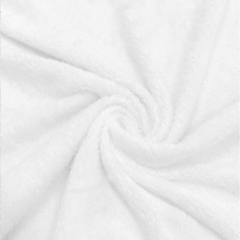 Eponge bambounette double face blanche Oeko-tex