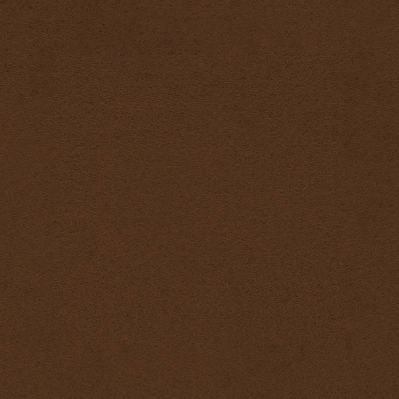 Feutrine marron 25x30 cm