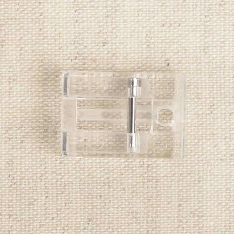 Pied universel pour fermeture à glissière invisible