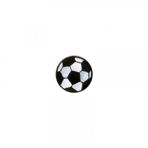 Ecusson brodé thermocollant ballon de foot