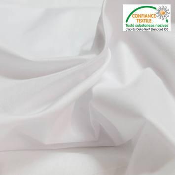 Tissu pour drap blanc grande largeur
