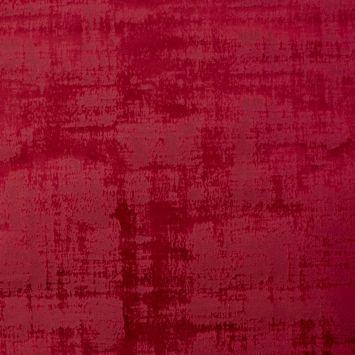 Velours illusion rouge