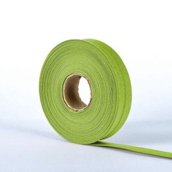 Bobine de biais 20mm 5m vert olive