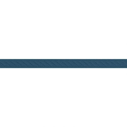 Galon tapissier 14 mm couleur bleu pétrole
