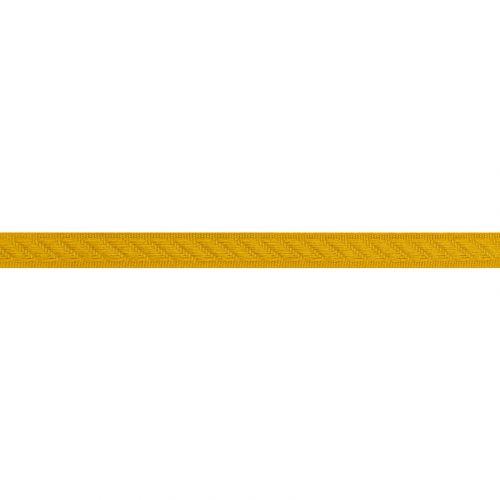 Galon tapissier 14 mm couleur moutarde