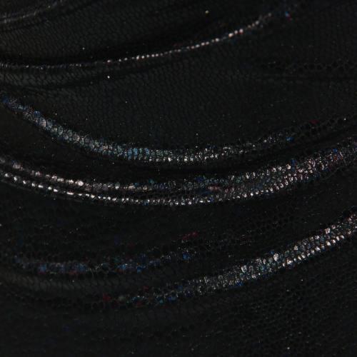 Lycra imitation serpent noir